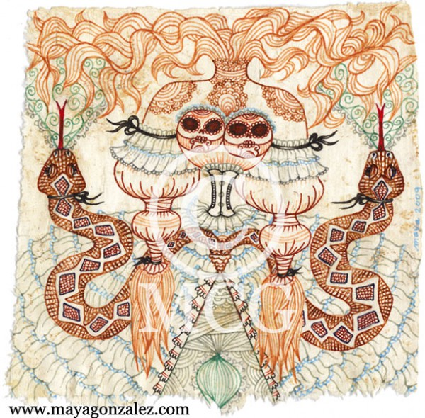 Snake Skull Gown