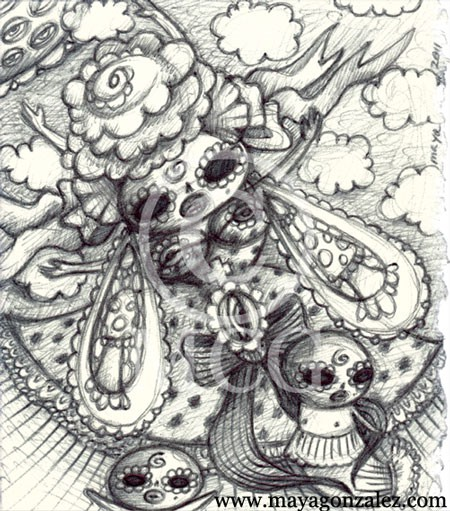 Ascending Death Goddess