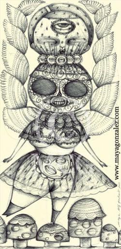 Skeleton Balancing on Mushroom