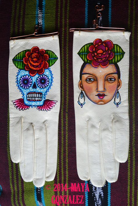 still making arte: communion gloves