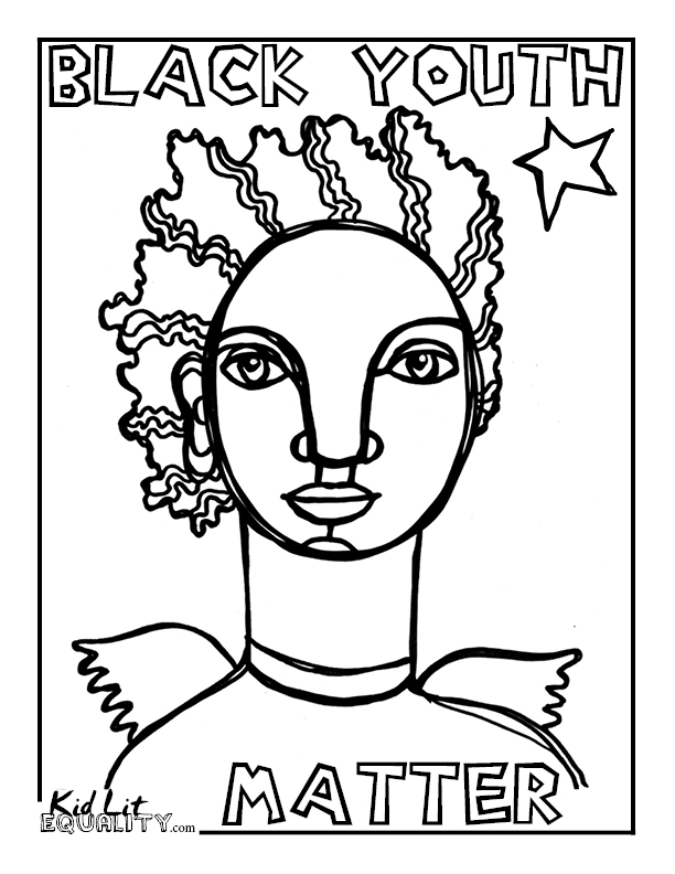 Michael brown reminded me of my dad maya gonzalez blog for Matter coloring pages