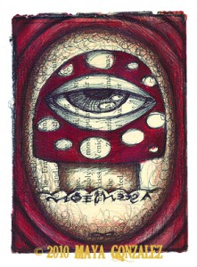 eye of the mushroom copy