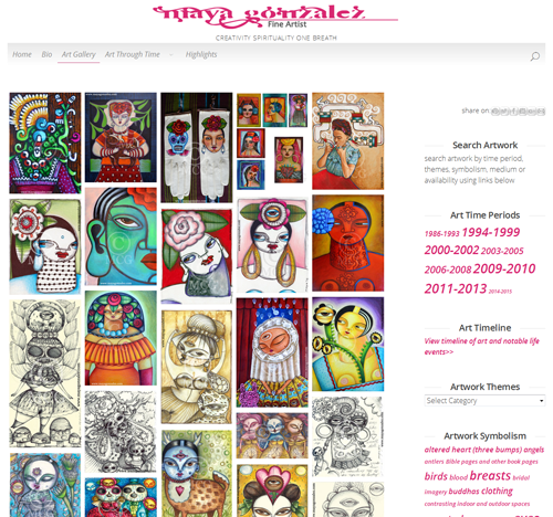 My New Art Website