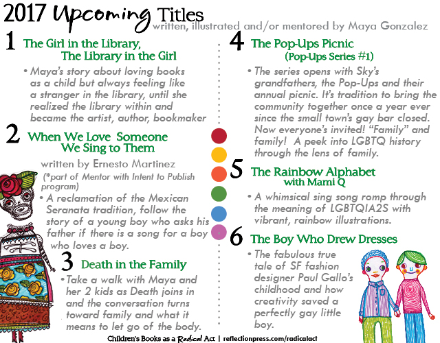 Children's Books as a Radical Act - upcoming book list