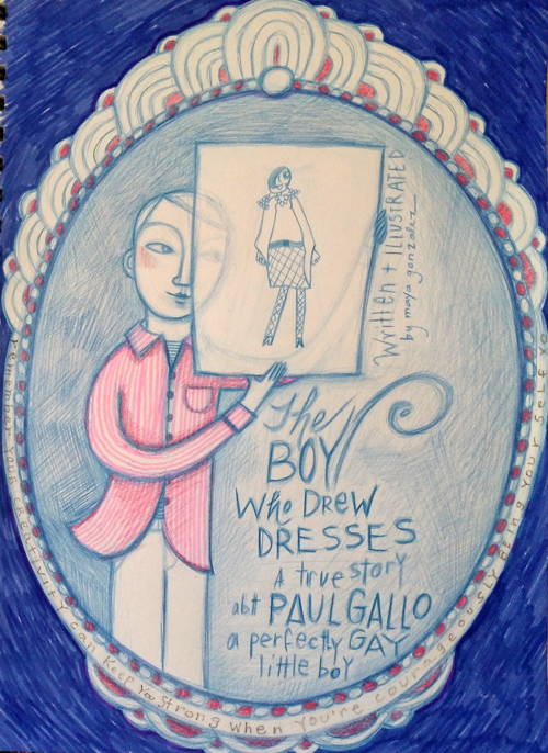 Boy Who Drew Dresses Character Study