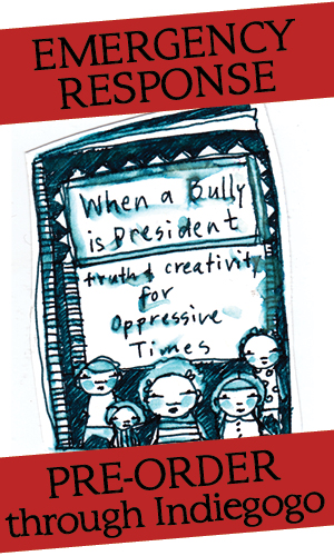 Pre-Order When a Bully is President through Indiegogo
