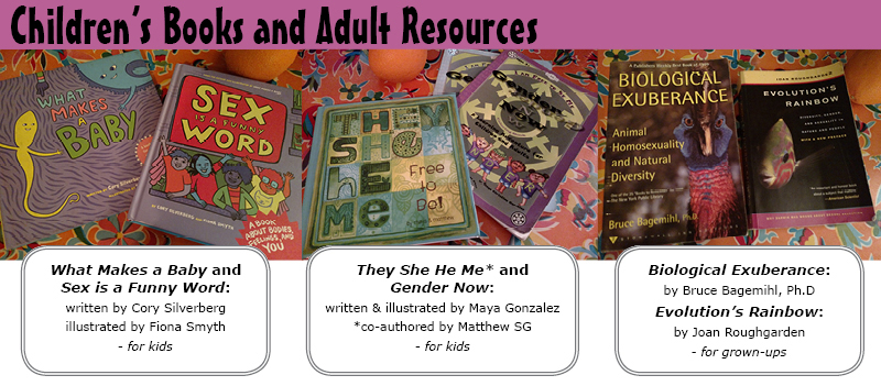 Children's Books and Adult Resources on Gender and Queerness in Nature