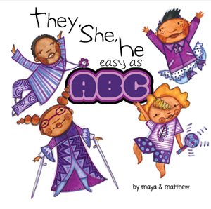 They, She, He easy as ABC book cover image